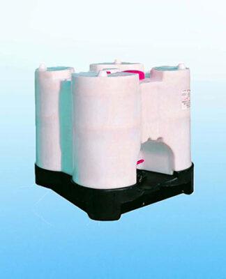 Zbiornik plastikowy na wodę